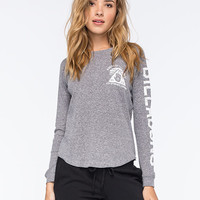 Billabong Riders Of The Seas Womens Thermal Heather Grey  In Sizes