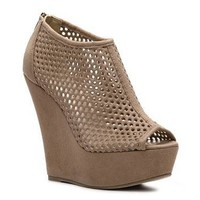 Madden Girl Way Cool Wedge Bootie