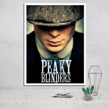 Peaky Blinders Canvas Poster Painting & Calligraphy Wall Painting Movie Poster Canvas Pictures for Living Room Art Print Giclee
