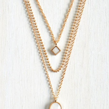 Minimal You Dew You Necklace by ModCloth