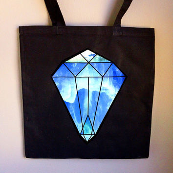 Crystal Ice Tote Bag