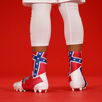 Mississippi State Flag Spats / Cleat Covers
