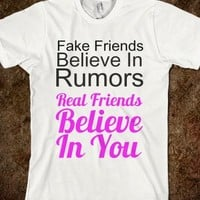 Fake Friends Real Friends