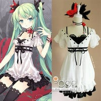 VOCALOID Hatsune MIKU world is mine cosplay costume