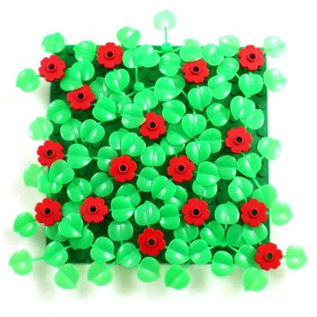 ZXZ Leaves Bush Tree Flowers Plants DIY Block Brick MOC Building Blocks Part Compatible With Legoed Plants Kid Toys Gift 70Pcs