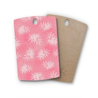 Julia Grifol Birchwood Paradise Flowers Vector Cutting Board