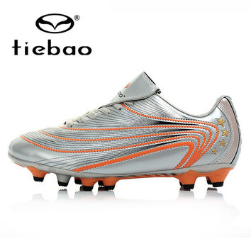 TIEBAO Professional Outdoor Football Boots Athlet Training Soccer Shoes Men Women H & A Sole Soccer Cleats zapatos de futbol