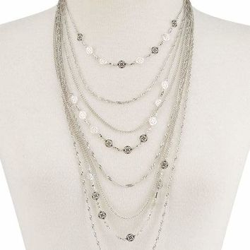 FULL TILT Fillagree Layer Necklace