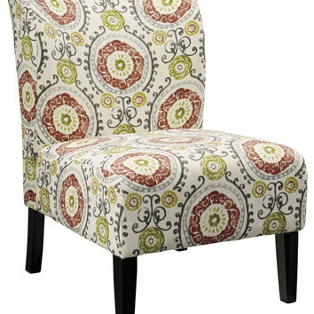 Signature Design by Ashley 5330260 Contemporary Accent Chair Floral