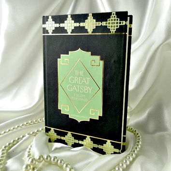 Book Clutch Purse - The Great Gatsby by F Scott Fitzgerald