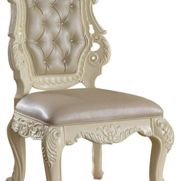 Madrid Dining Side Chair French Provincial Hand Crafted Design (set of 2)