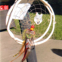 Wolf Totem Dream Catcher (dr040)