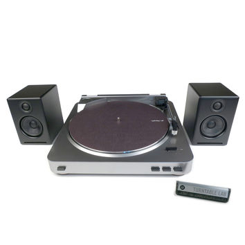 Audio-Technica: AT-LP60 Turntable + Audioengine A2+ Speaker Package (TTL Setup)