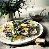 Oysters on the Half Shell with Mignonette Sauce | Williams-Sonoma