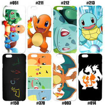 Pokemon Charmander Squirtle Bulbasaur Pikachu Case For Samsung Galaxy and LG
