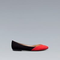 POINTED BALLERINA - Shoes - TRF - ZARA United States