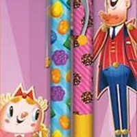 CANDY CRUSH - GEL PENS 2 PACK - BRAND NEW GAME 0072