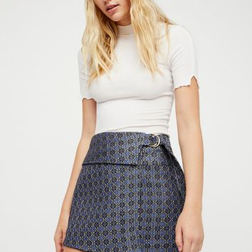 Free People All The Shine Mini Skirt