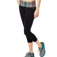 LLD Southwest Yoga Crop Leggings