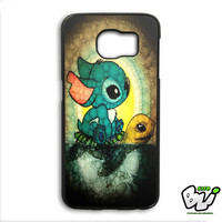 Lilo And Stitch And Turtle Samsung Galaxy S6 Edge Plus Case