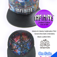 Infinite Bit x Grassroots Limited Edition Fitted Hat