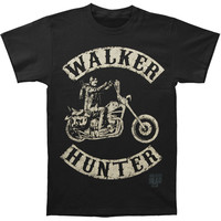 Walking Dead Men's  Walk Hunter T-shirt Black Rockabilia