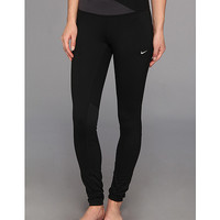 Nike Dri-Fit® Epic Run Tight Black/Anthracite/Matte Silver - 6pm.com