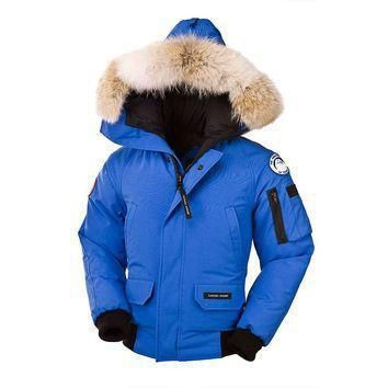 Canada Goose Youth Pbi Chilliwack Bomber Jacket| Best Deal Online