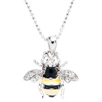 Bee Gemmed Body Necklace