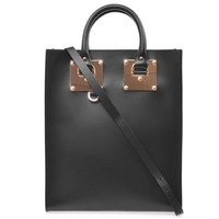 Mini buckle leather tote | Sophie Hulme | MATCHESFASHION.COM