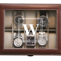 Personalized Christmas Gifts, Husband Gift, Christmas Gifts for Him, Holiday Gifts for Him, Christmas Gifts for Men, Watch Box Case