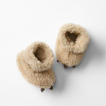 Gap Baby Sherpa Bear Slippers