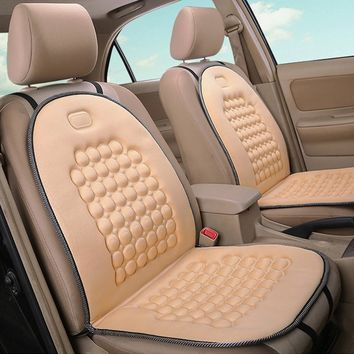 Auto Heating Car Seat Cover Sponge Cushion Single Seat Cover Warm Mat Pads Interior Products Clean Car Seat Protector ME3L