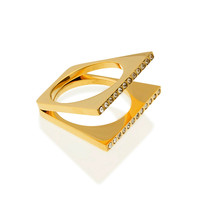 Book-a-Brack Ring (Gold)