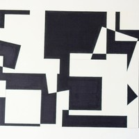 Geometric Abstract Drawing