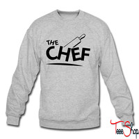 chef cook crewneck sweatshirt