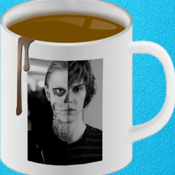 american horror mug heppy coffee.
