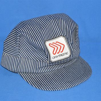 80s Daytronic Train Conductor Snapback Hat
