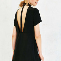 Silence + Noise Cut-Out Back Shirt Dress - Urban Outfitters