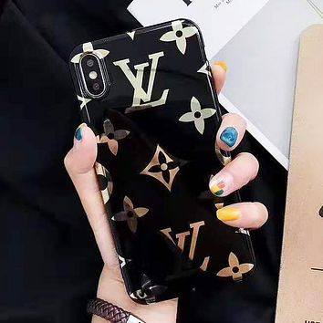 Louis Vuitton LV Fashion New Monogram Print Phone Case Protective Case