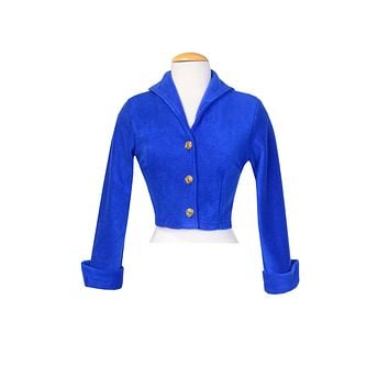 Siren Bolero Royal Blue
