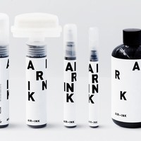 Ink Made Out of Air Pollution