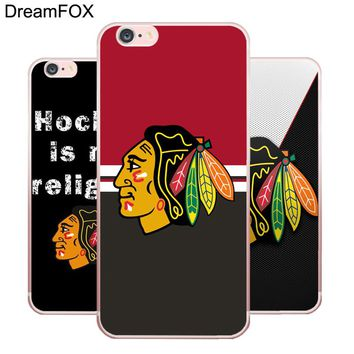 L127 Chicago Blackhawks Soft TPU Silicone  Case Cover For Apple iPhone X 8 7 6 6S Plus 5 5S SE 5C 4 4S
