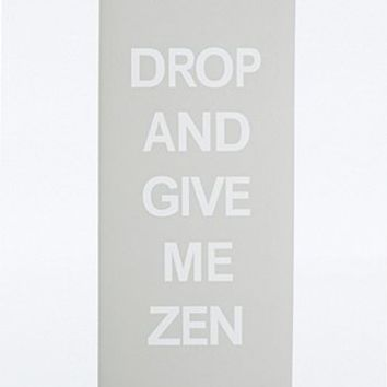 UO Drop and Give Me Zen Yoga Mat in Grey - Urban Outfitters