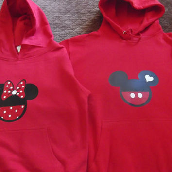 Mickey/Minnie Mouse Hoodie