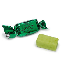 Zaza Green Foiled Sour Apple Chewy Candy: 1KG Bag