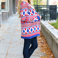 Wrapped In Rubies Cardi
