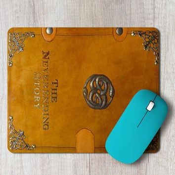 Rectangle Mouse Pad The Neverending Story Book