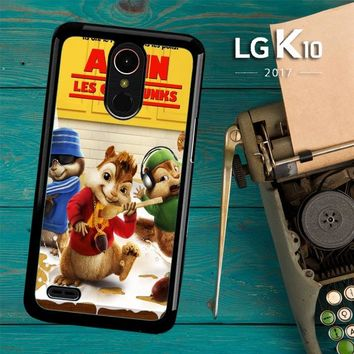 Alvin And The Chipmunks Y0710 LG K10 2017 / LG K20 Plus / LG Harmony Case