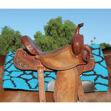 Professional's Choice Giraffe Comfort-Fit SMX Air Ride Saddle Pad - Western Tack - Tack